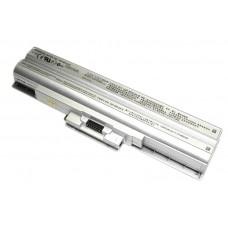 Аккумуляторная батарея для ноутбука Sony VGP-BPS13 VAIO VGN-FW 11.1V Silver 4400mAh OEM